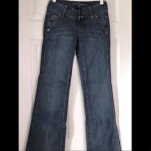 NWOT Dish Wide Flare Jeans